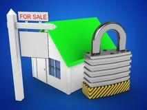 padlock 3d vektor illustrationer
