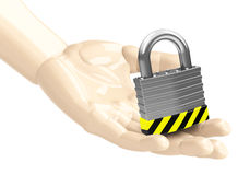The padlock Royalty Free Stock Photography