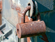 Padlock in detail Stock Photos