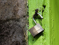 Free Padlock For Protection. Royalty Free Stock Photography - 63563527