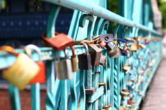 Padlock,love Royalty Free Stock Photography