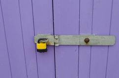 Padlock and hasp Stock Image