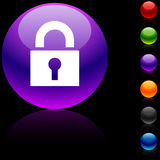 Padlock  icon. Stock Photography
