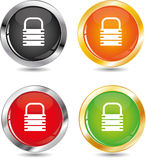Padlock  icon Stock Image