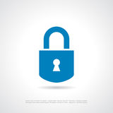 Padlock icon Stock Photo