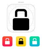 Padlock icon. Vector illustration. This is file of EPS10 format Stock Images
