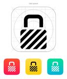 Padlock icon. Vector illustration. This is file of EPS10 format Royalty Free Stock Photography