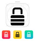 Padlock icon. Vector illustration. This is file of EPS10 format Vector Illustration
