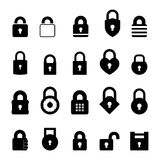 Padlock Icon Royalty Free Stock Photography