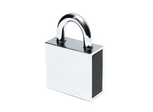 Padlock isolated Stock Images