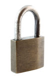 Padlock isolated Royalty Free Stock Photo