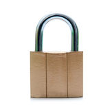 Padlock isolated Royalty Free Stock Image