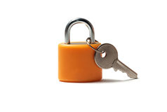 Padlock and Key Stock Image