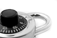 Padlock and keys stock images