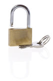 Padlock and keys Stock Image