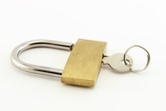Padlock and Keys Royalty Free Stock Photos