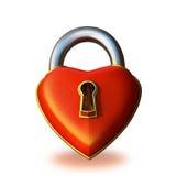 Padlock le coeur illustration libre de droits