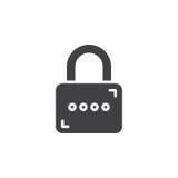 Padlock, Lock icon vector Stock Photos