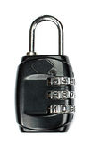 Padlock Lock. IT-internet security. Stock Photos