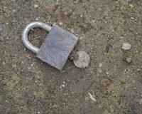 Padlock Royalty Free Stock Photography