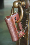 Padlock in a Mosque Royalty Free Stock Images