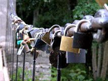 Padlock obsession Royalty Free Stock Photo