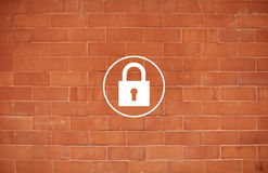 Padlock Protect Password Security Symbol Concept Royalty Free Stock Image