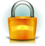Padlock Security Icon Stock Photography