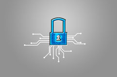 Padlock - Security System Stock Photography