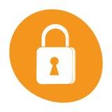 Padlock security system technology image Royalty Free Stock Image