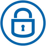 Padlock Vector Icon Stock Images