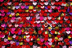 padlocks красный цвет Стоковые Фото