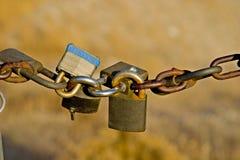 padlocks строба Стоковое Изображение RF