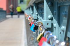 padlocks Immagine Stock