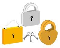 padlocks 3 Стоковое фото RF