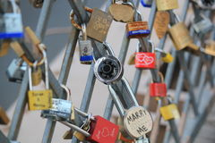 padlocks Royaltyfri Foto