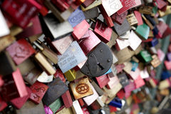 Padlocks in Cologne Stock Images