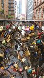 Padlocks and love royalty free stock image
