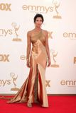 Padma Lakshmi. LOS ANGELES - SEP 18:  Padma Lakshmi arriving at the 63rd Primetime Emmy Awards at Nokia Theater on September 18, 2011 in Los Angeles, CA Stock Images