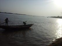 Padma River bangladesh Imagem de Stock Royalty Free