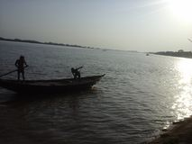 Padma River Bangladesh. Padma River BD Royalty Free Stock Image