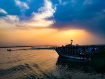 Padma River Bangladesh. Natural beauty padma river Stock Photo