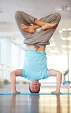 Padma-Sarvangasana Royalty Free Stock Photography