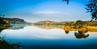 Padma Talab. Or Padma Lake at Ranthambore Royalty Free Stock Photography