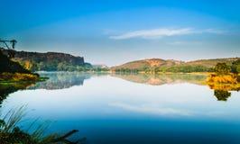 Padma Talab. Or Padma Lake at Ranthambore Forest Royalty Free Stock Photo