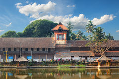 Padmanabhapuram Palace in front of Sri Padmanabhaswamy temple in Trivandrum Kerala India Stock Images