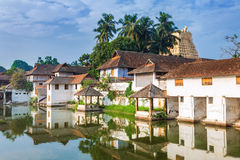 Padmanabhapuram Palace in front of Sri Padmanabhaswamy temple in Trivandrum Kerala India. Padmanabhapuram Palace in front of Thiruvananthapuram, India stock photos