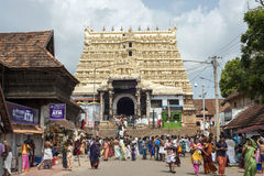 Padmanabhaswami temple Stock Photos