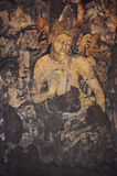 Padmapani壁画在Ajanta 库存照片