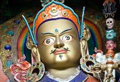 Padmasambhava, Leh拉达克,印度雕象在Hemis修道院的 免版税库存图片